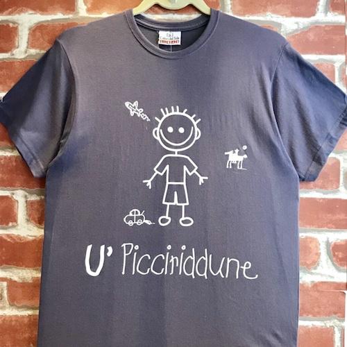Item089 イタリア シチリア島から来た ファミリーでお揃いのTシャツ Picciridune (可愛い男の子) 大人男性用
