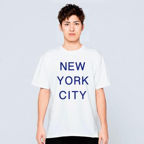 ニューヨーク Tシャツ メンズ レディース 半袖 シンプル ゆったり おしゃれ トップス 白 30代 40代 プレゼント 大きいサイズ 綿100% 160 S M L XL