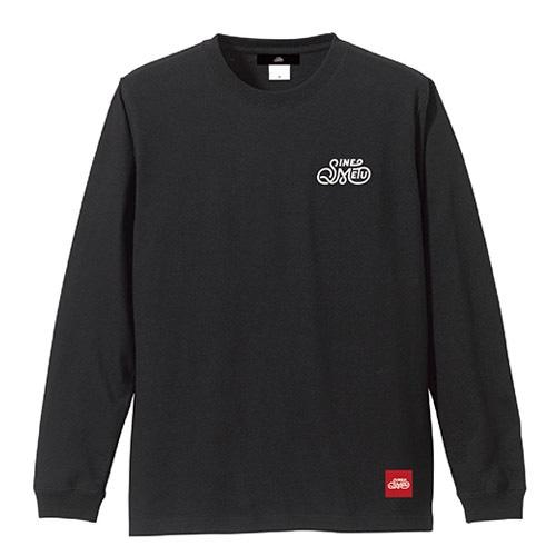 SINE METU ロゴ L/S Tee / ブラック ※在庫限り   SINE METU - シネメトゥ