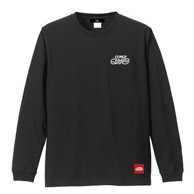SINE METU ロゴ L/S Tee / ブラック ※在庫限り | SINE METU - シネメトゥ