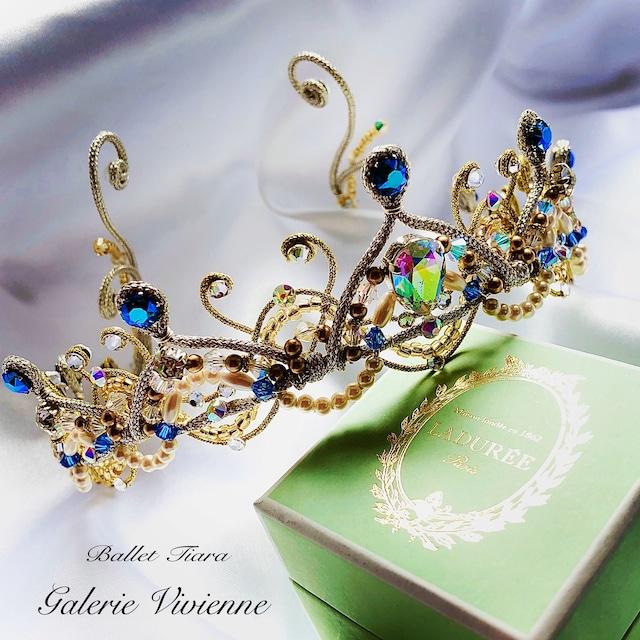 バレエティアラ コード&ビーズ プリンセスフロリナ1