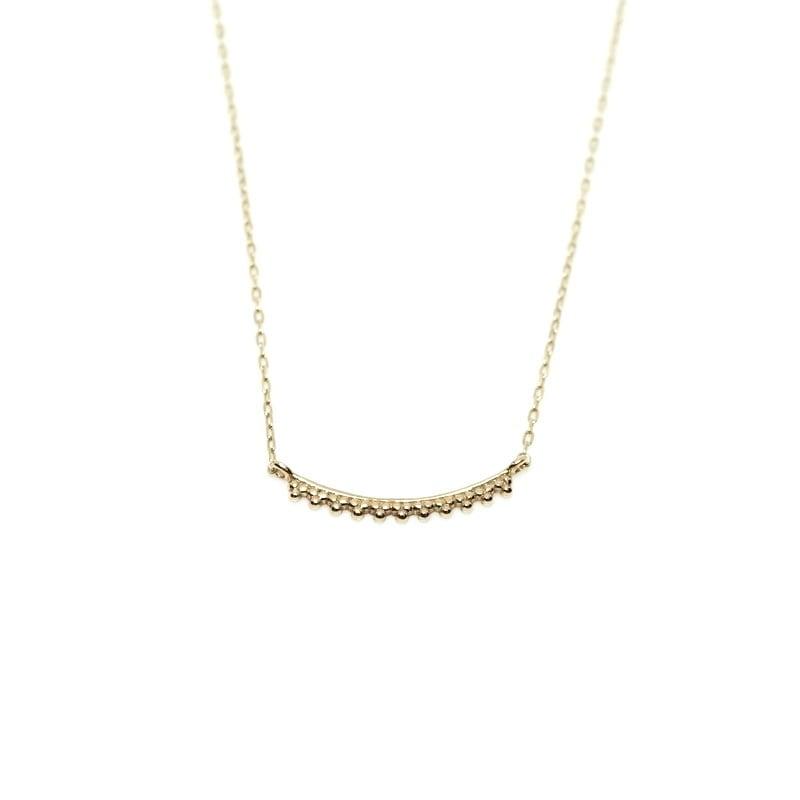 Granulation Necklace - straight