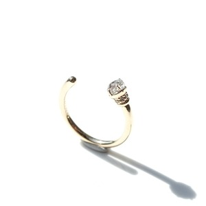 Torch ring Gray Dia - 0.56ct