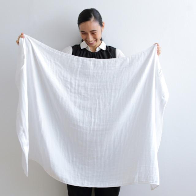 SHINTO TOWEL - 2.5重ガーゼ ホワイト/バスタオル(L)