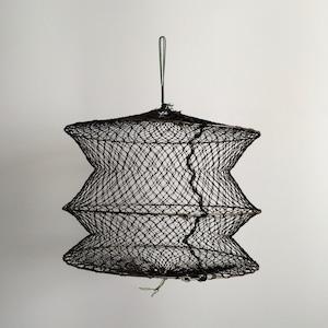 タイのヴィンテージの魚籠(びく) Thai Vintage Fish Basket