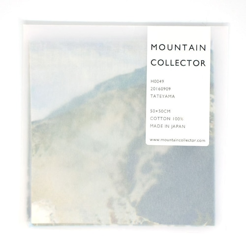 MOUNTAIN COLLECTOR(マウンテンコレクター)H0049 TATEYAMA ハンカチ