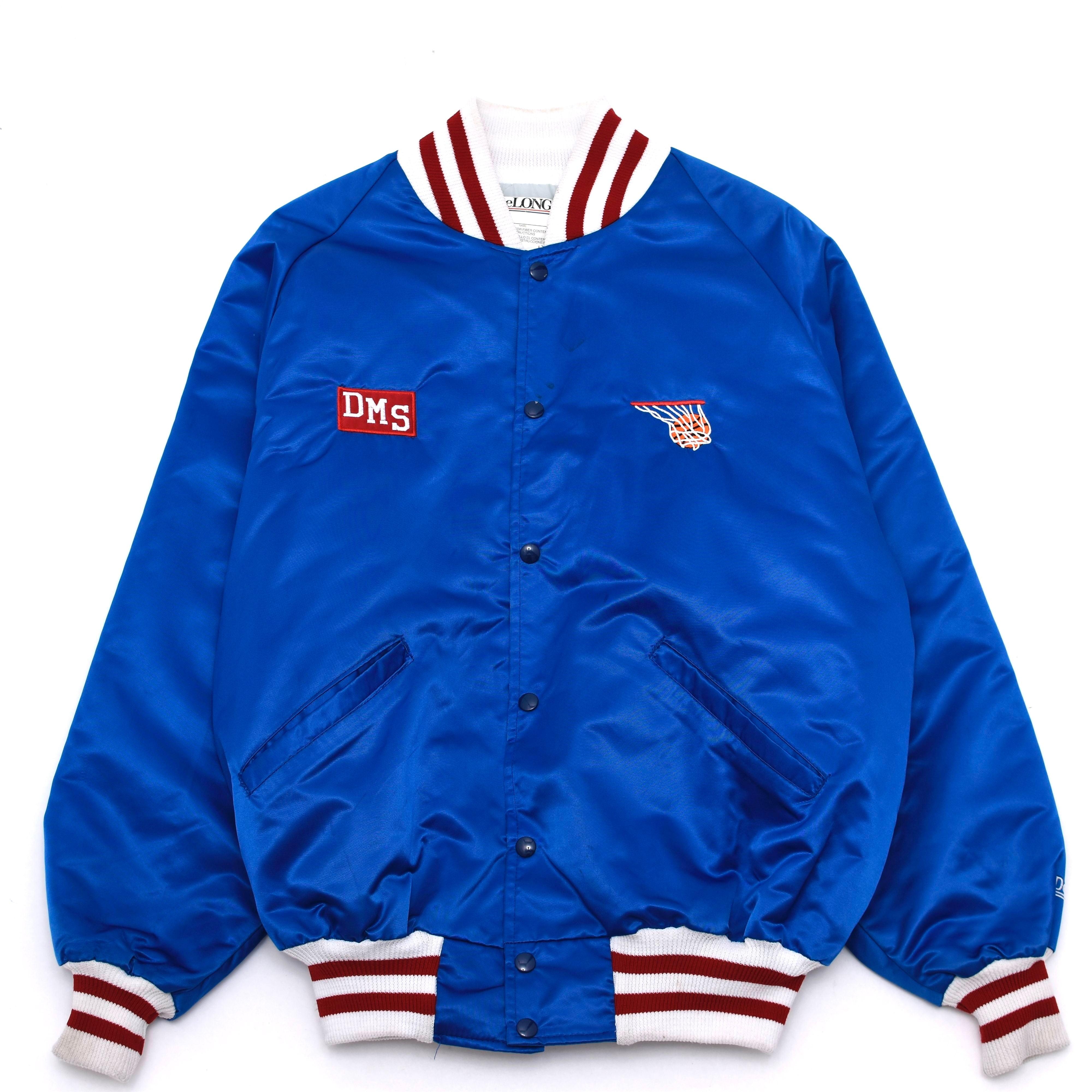 80's Vintage DeLONG nylo stadium jacket