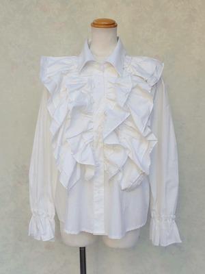 フリルブラウス ボリュームフリルの貴族服 【受注生産品】