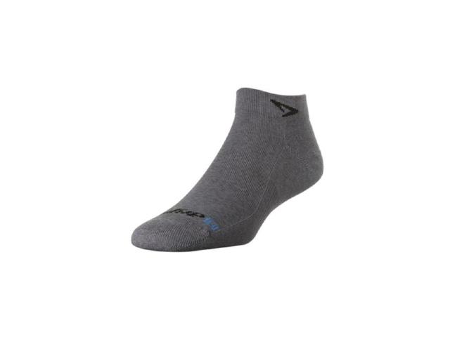 【drymax】 LiteTrailRun Minicrew Socks(Grey Black)