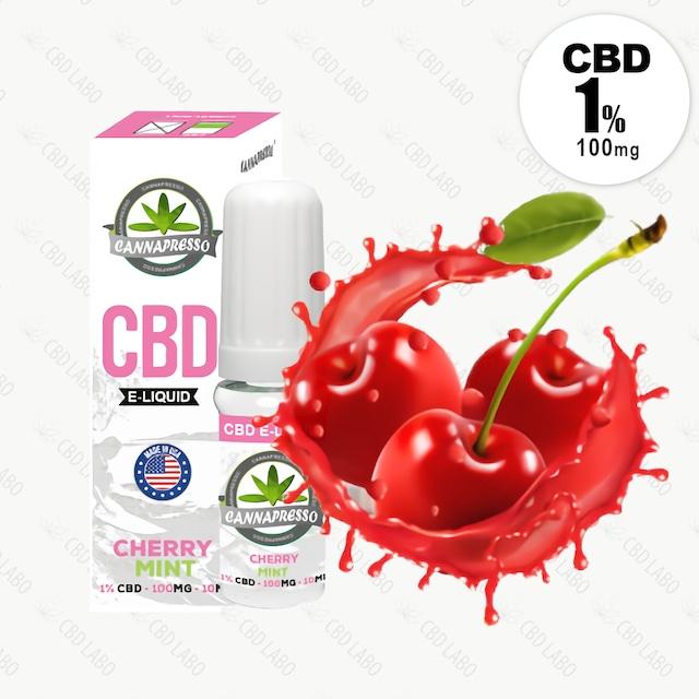 【送料無料】CBD LIQUID CHERRY MINT / チェリーミント 10ml CBD含有量100mg (1%)