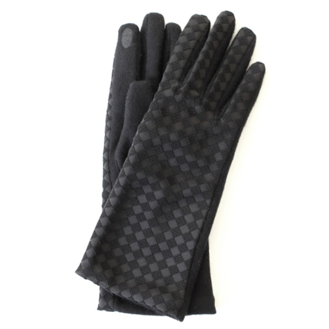 輪奈天鵞絨 極上絹手袋