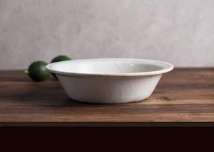 ゴス線 切⽴リム浅鉢 ⼤ /古谷 浩一