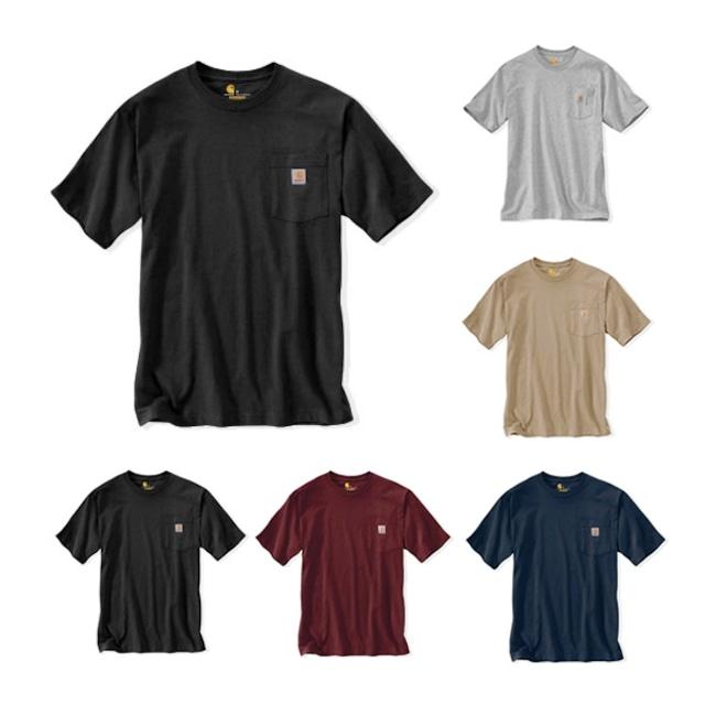 CARHARTT|Heavyweight Work Wear Pocket T-Shirt
