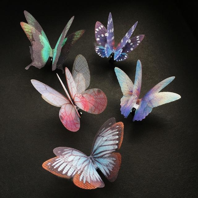 胡蝶の夢 蝶ヘアクリップ(2)