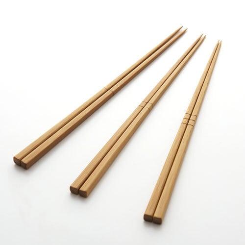 公長齋小菅  炭化竹筋箸 3本セット