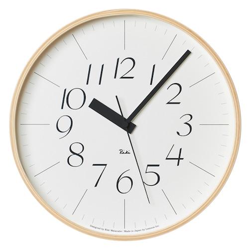 Riki Clock 電波時計(WR08-26)