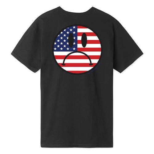 HUF ハフ BUMMER USA S/S TEE BLACK