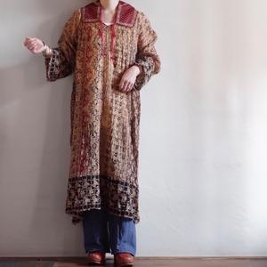 Vintage India Cotton Dress / 70's ヴィンテージ インド綿 ドレス / ワンピース