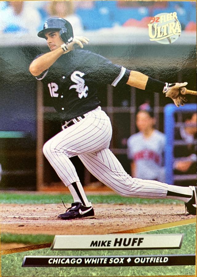 MLBカード 92FLEER Mike Huff #337 WHITE SOX