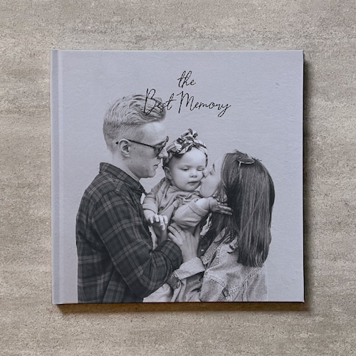 Monochrome-FAMILY_A4スクエア_10ページ/16カット_フォトブック