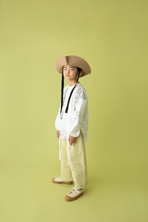 【21AW】folkmade(フォークメイド) map pattern shirt シャツ white (S/M/L)