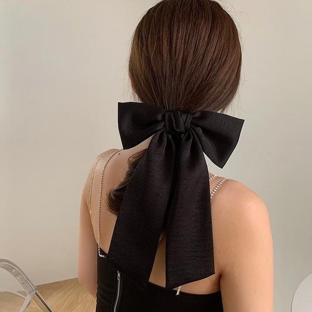 ribbon hair clip 2type