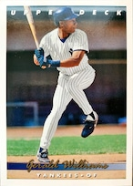 MLBカード 93UPPERDECK Gerald Williams #360 YANKEES