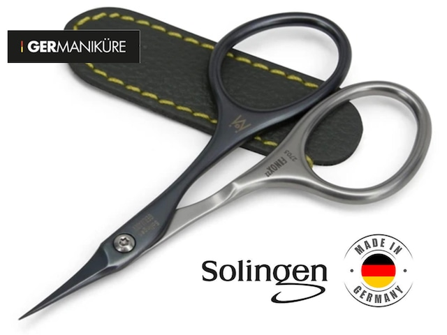 GERmanikure Solingen - FINOX22 Self-Sharpening  Titanium Coated Scissors 【Fine Blade】2705