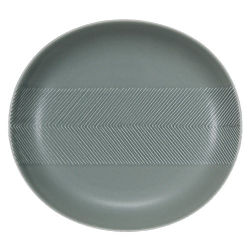 BIRDS' WORDS(バーズワーズ) Tabletop Plate 24.5cm squall gray