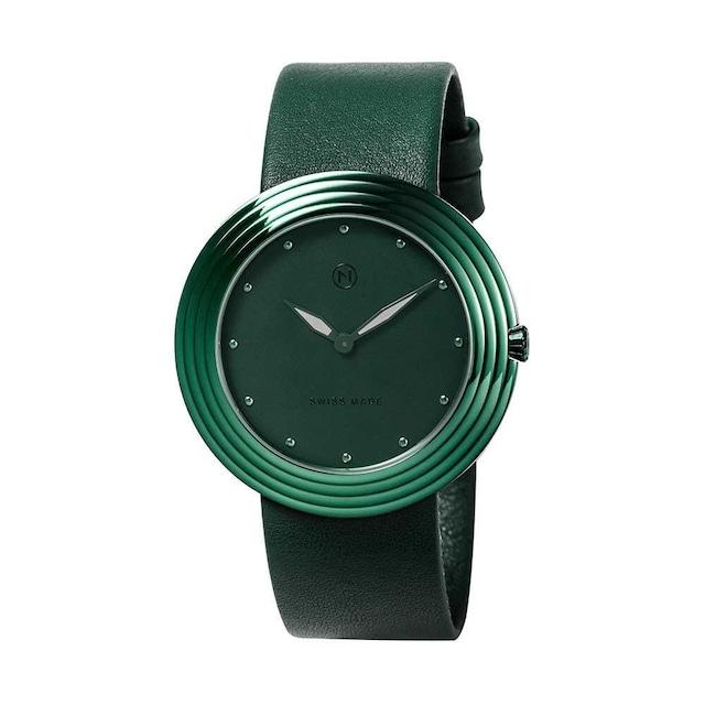 B011-01 Nove ストリームライナー スイス製 腕時計 Women   Green