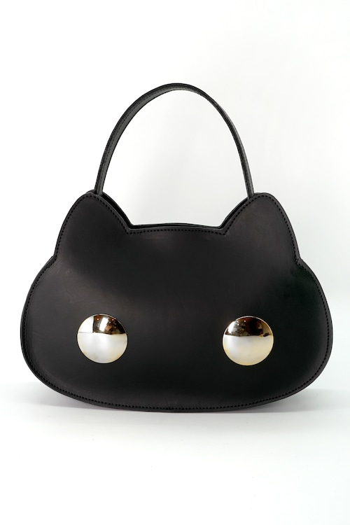 猫連合3WAYバッグ|シルバー(牛革製)