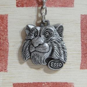 フランス ESSO[エッソ]タイガー ツール・ド・フランス・オート 記念キーホルダー1977年