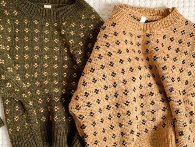 vintage like knit