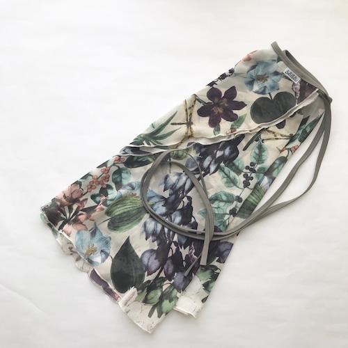 "❖""Fiorina"" Ballet Wrap Skirt -  European Garden [Sheer]( ヨーロピアン・ガーデン [シアー])"