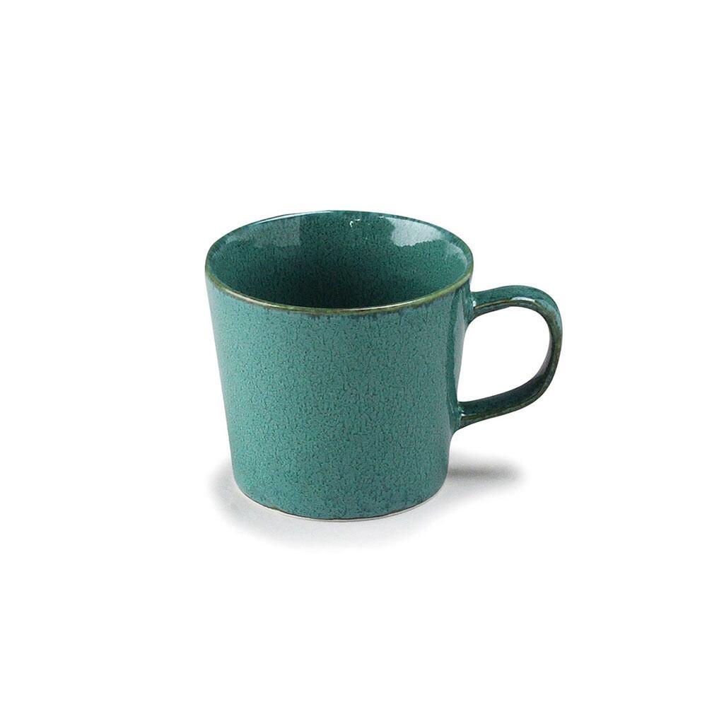 aito製作所 「ナチュラルカラー Natural Color」スタンダード マグカップ 320ml グリーン 美濃焼 517027