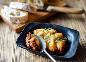 北海道産鹿肉のパルマンティエ 料理缶 200ℊ