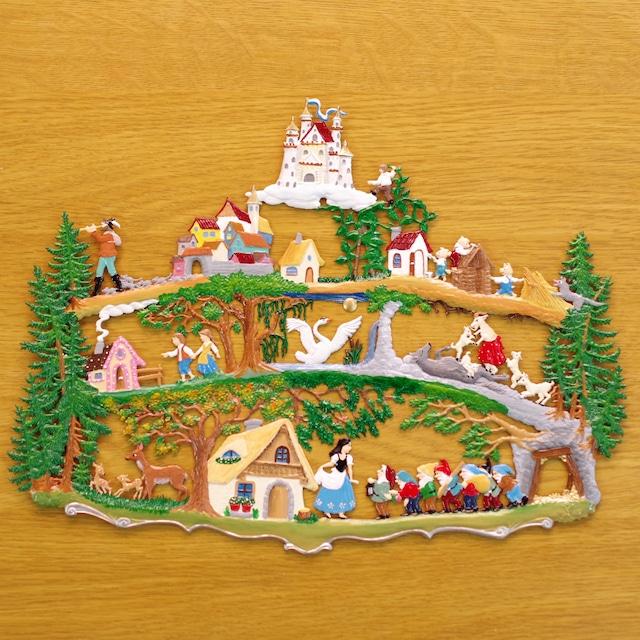 錫の飾り メルヘンの森