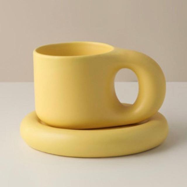 メルカリ送料込み/4500円【即納】Chubby mugs & plates  / カップ&プレート /  韓国インテリア / kr-14