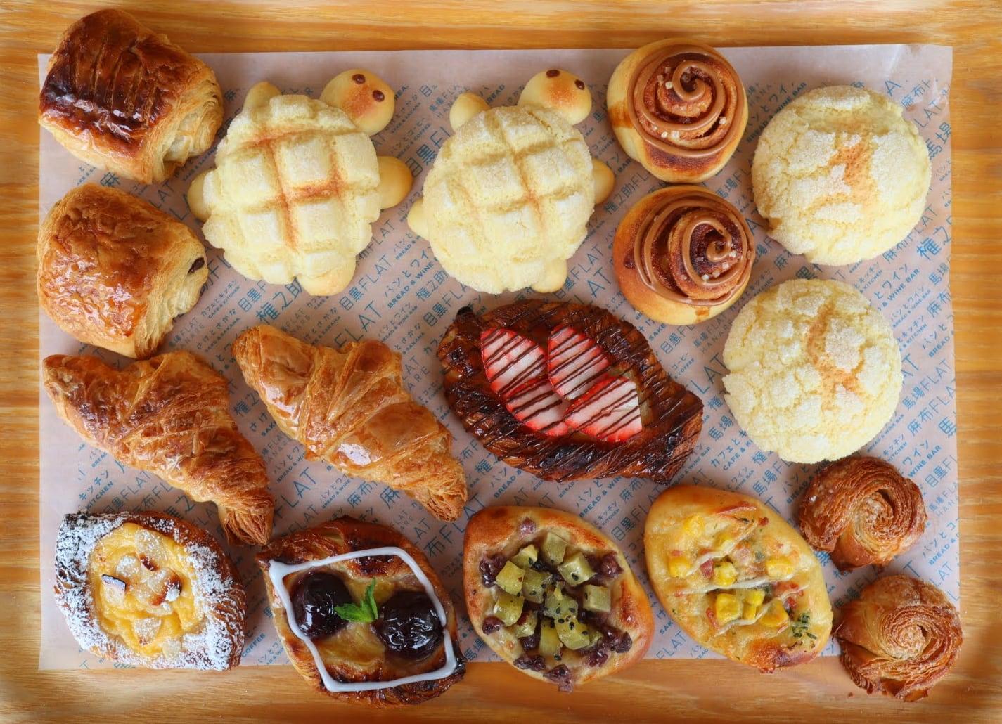 【手作りパンセット】「デニッシュ&菓子パン&メロン皮」冷凍パン生地セット