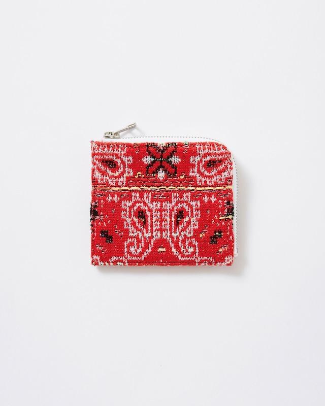 【COOHEM】knit tweed wallet medium