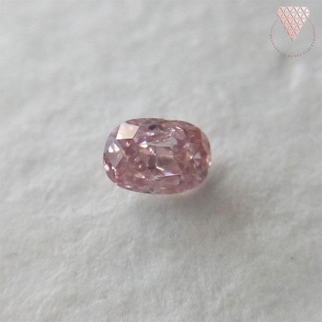 0.071 ct F.Or.PINK 天然 ピンク ダイヤモンド