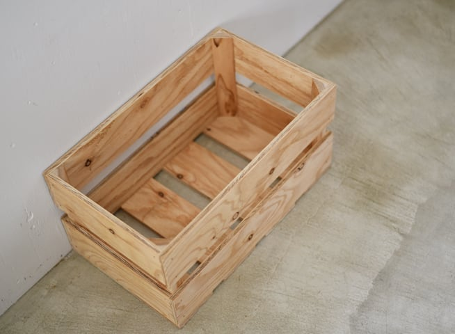 木箱 ベジタブルボックス L