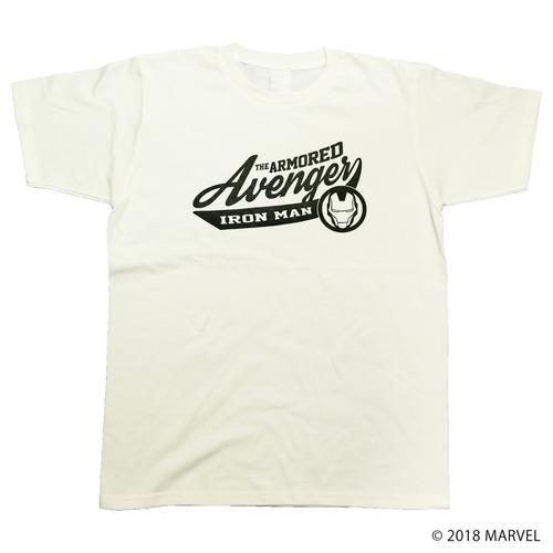【マーベル】アイアンマン|カレッジデザイン Tシャツ
