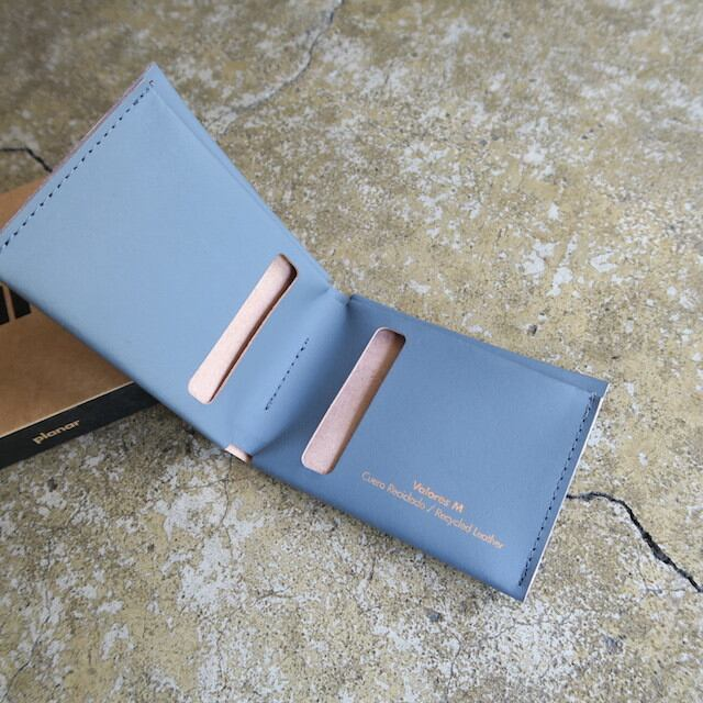 Planar  Bill Ford Slim Wallet  -Grey Plain-