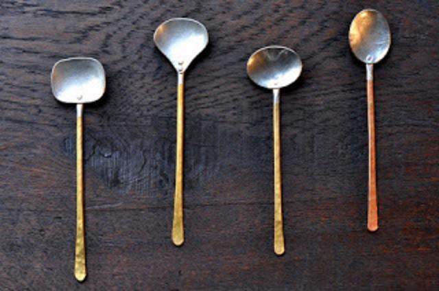 銅のスプーン ※受注品