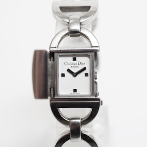 Christian Dior ディオール  D78-100 パンディオラ SS クォーツ シルバー レディース 腕時計