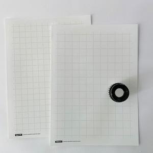 しずくドット方眼下敷10枚(180mm×250mm)セット