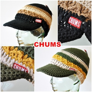 CHUMS  チャムス ワークニットキャップ ch05-1216  男女兼用 帽子  WORK KNIT CAP