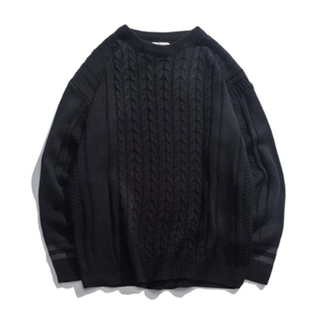 【MEN'S】クルーネック セーター【2colors】