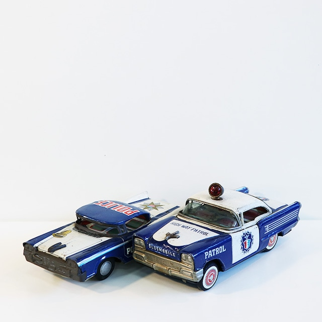【R-83】ブリキ パトカー2種
